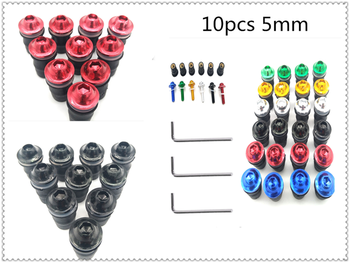10pcs motorcycle modified fixed decorative nut windshield screw for SUZUKI GSR600 GSR750 GSX-S750 GSXR1000 GSXR600 GSXR750 image