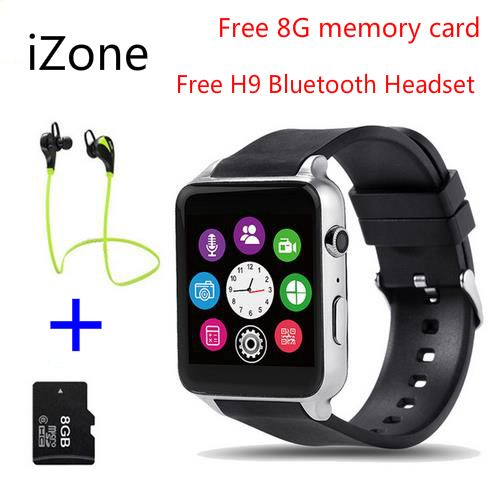 iZone GT88 NFC Bluetooth Smartwatch phone Wrist Smart Watch Heart Rate Monitor Support TF SIM Card