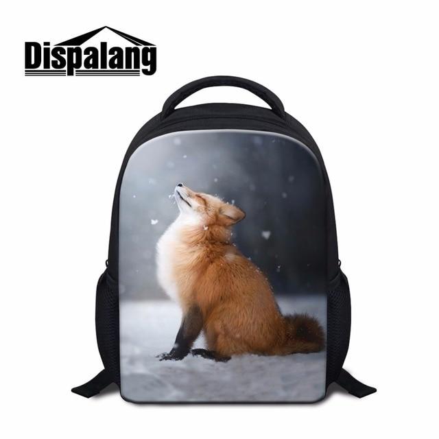 4af282b39f Dispalang Kindergarten Backpack Patterns Fox School Bag for Kids Little  Girls Shoulder Bookbags Boys Rucksack Mochila Travel Bag
