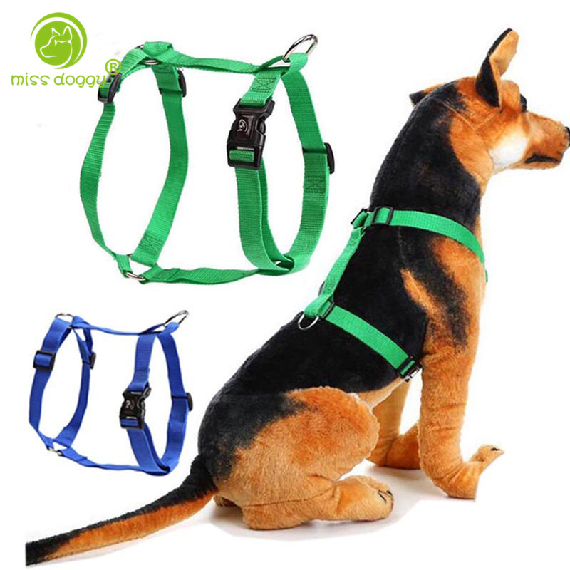 U0026quot H U0026quot  Style Pet Harness Nylon Adjustable Safety Control