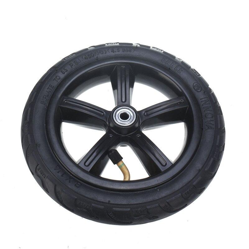 8 אינץ מנופח גלגל עבור דואר twow S2 קטנוע M6 פנאומטי גלגל עם פנימי צינור 8
