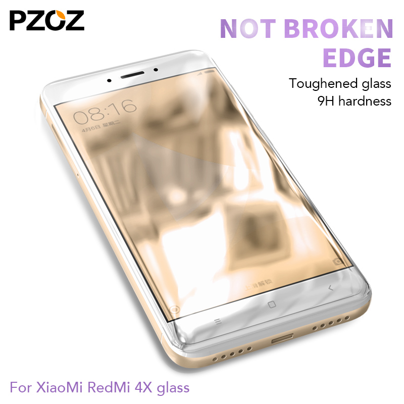 Image 3 - PZOZ xiaomi redmi 4x 5 plus glass tempered cover prime screen protector redmi 4x glass protective Clear phone xiomi redmi 5 film-in Phone Screen Protectors from Cellphones & Telecommunications on