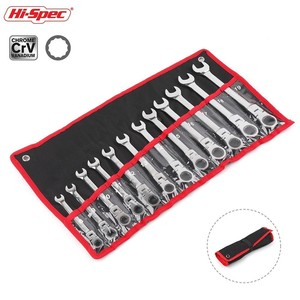 Image 2 - Hi Spec 6/8 12pc Multitool Keys Set Wrenches Ratchet Spanners Set of Keys Flexible Combination Wrench Car Repair Tool Hand Tools