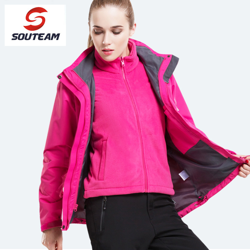Souteam Brand Women Winter Warm Ski Jacket Snowboarding Jacket Women Windproof Sports Jackets High Quality Snow Jacket #W1855 running river brand winter thermal women ski down jacket 5 colors 5 sizes high quality warm woman outdoor sports jackets a6012