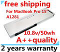 "Wholesale New Laptop battery replacement for Apple MacBook Pro 15"" A1286 Aluminum Unibody Series(2008 Version) MB470*/A  A1281"