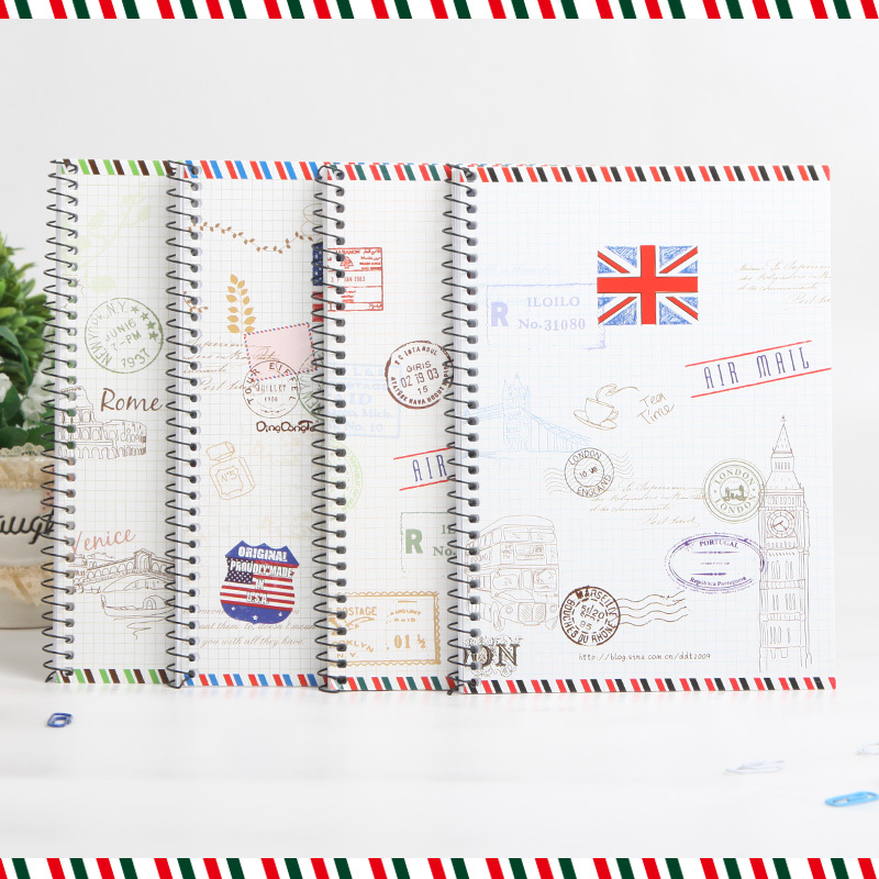 Specil Spiral school notebook paper A5 50 sheets Diary note book Notepad Stationary Products Supplies Note book gift цена и фото