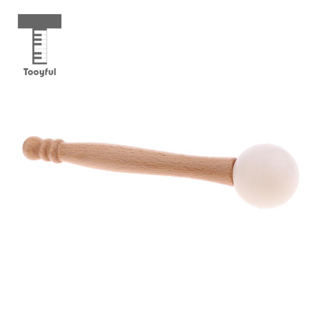 Tooyful Gummi Holz Mallet Tibetischen Klangschalen Sturm für Percussion Teile