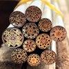 Knife DIY Shank Brass Mosaics Rivets 90mm Length Nail Steel Tube 6mm DIY Knife Handle Screw
