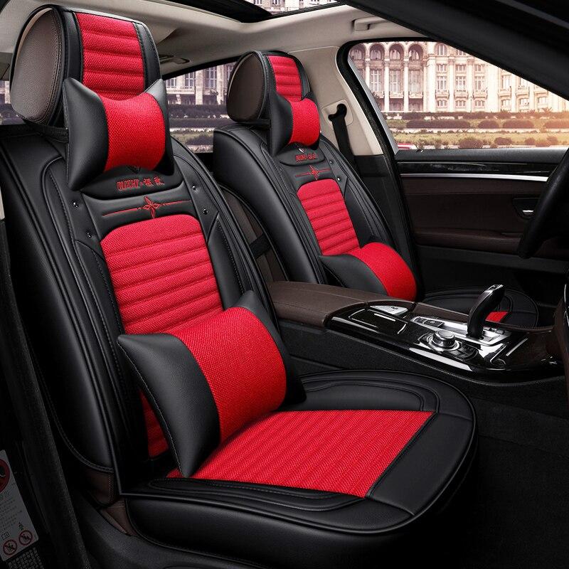 Новый 5 Стульчики детские (спереди и сзади) автомобиль-Стайлинг сиденья для Kia Sorento Sportage Optima K5 ФОРТЕ Rio/K2 CERATO K3 Carens Soul cadenza