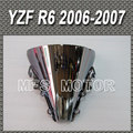 New Motorcycle For Yamaha R6 2006 2007 06 07 Windshield/Windscreen Motorcycle Part Silver