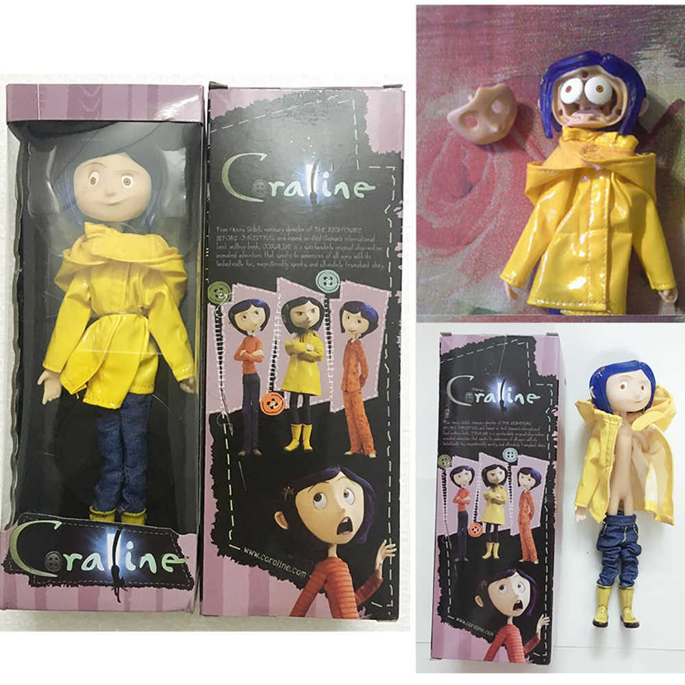 Neca Coraline Figure Coraline Doll Coraline The Secret Door Coraline Y La Puerta Secreta Action Fgure Toys Doll Christmas Gift Action Toy Figures Aliexpress