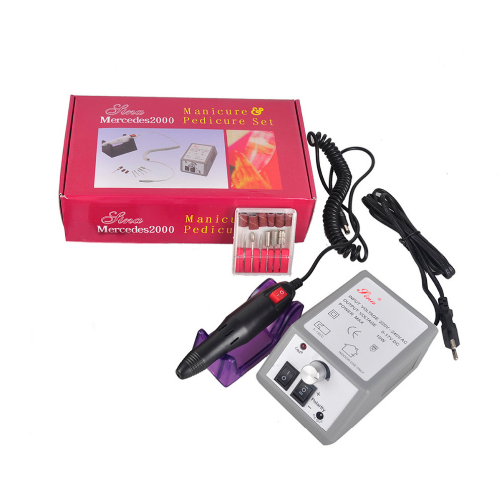 Adjustable Professional Manicure Electric Grinding Machine Manicure Pedicure Nail Art Drill Nail Tools Rotation Rate
