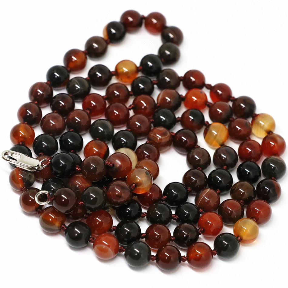Natural stone dream carnelian onyx agat 8mm 10mm round beadss