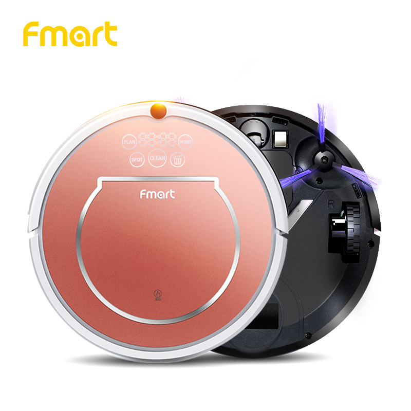 Fmart YZ-Q1 Robot Vacuum Cleaner for Pet Hair 800pa Suction Dry and Wet Mopping House Cleaning Sweep HEPA Filter Robot Cleaner цена и фото