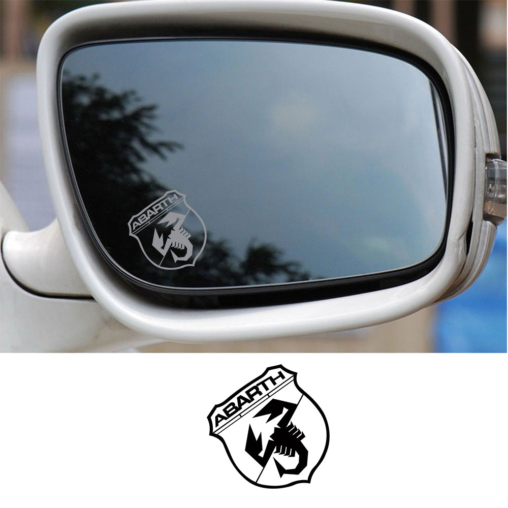 COMPATIBLE BMW M 328i WING MIRROR ETCHED GLASS CAR VINYL STICKERS SILVER ETCH