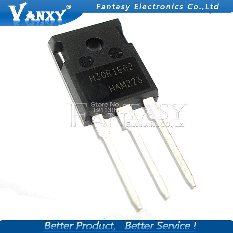 5pcs IHW30N160R2 TO-247 H30R1602 TO247 IHW30N160 IGBT New Original