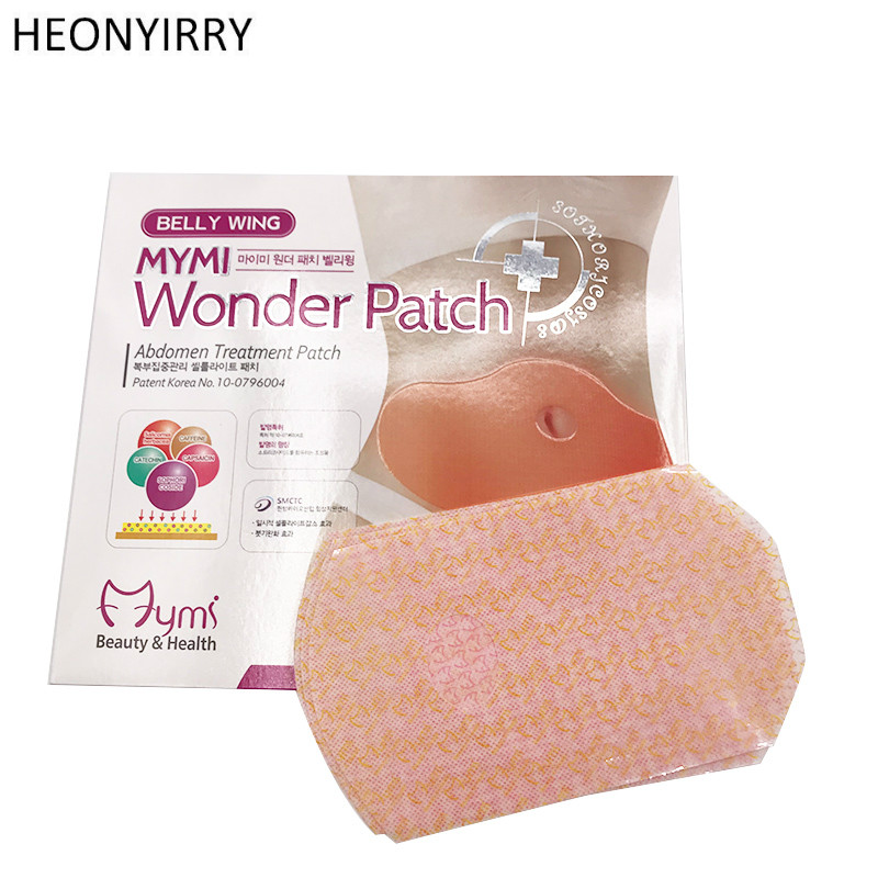 30 Days 10Pc MYMI Quick Wonder Slimming Patch Belly Slim Patch Abdomen font b Weight b
