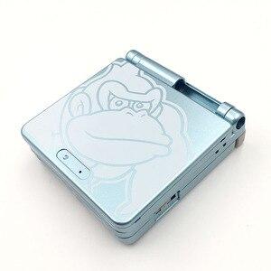 Image 2 - 10 مجموعات ل GBA SP لعبة وحدة التحكم حافظة كرتون طبعة محدودة كامل الإسكان شل استبدال ل نينتندو Gameboy مقدما SP