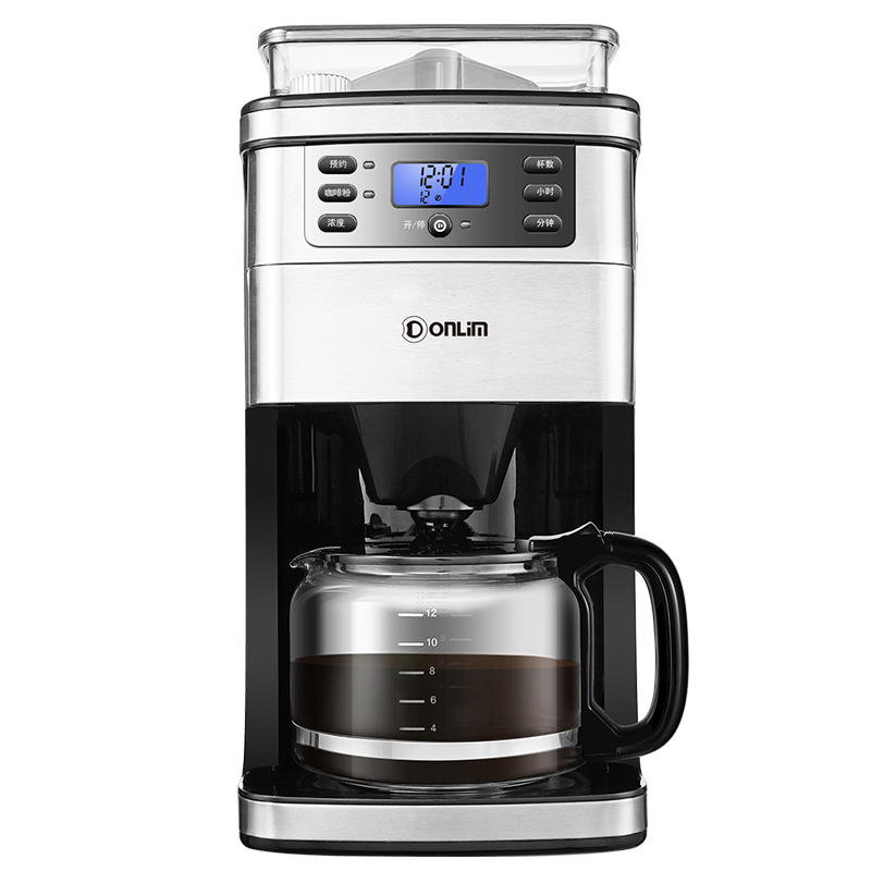 Coffee Maker DL-KF4266 Coffee Machine Household Automatic Ground Soybean Powder Commercial American Office bulk powder pure green coffee bean extract 50