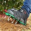 Аэратор для газонов  сандалии для газонов с регулируемыми ремешками  аэратор для газонов  садовая обувь для мужчин и женщин всех размеров  г...