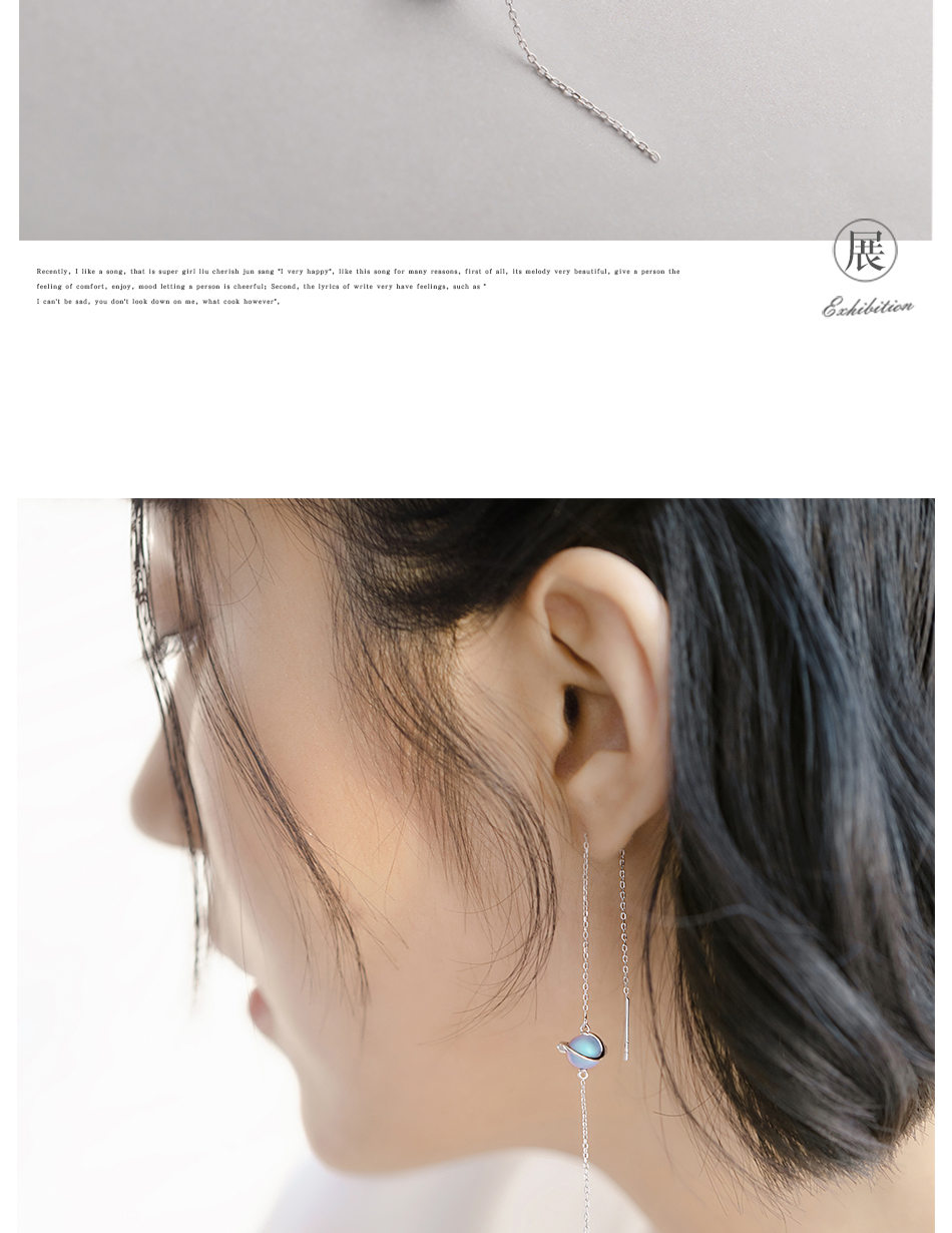 HTB1nvTja3aH3KVjSZFjq6AFWpXaO Thaya 925 Silver Earrings Midsummer Night's Dream Design Pendant Earrings Vintage Fantasy style Party Jewelry For Women Gift
