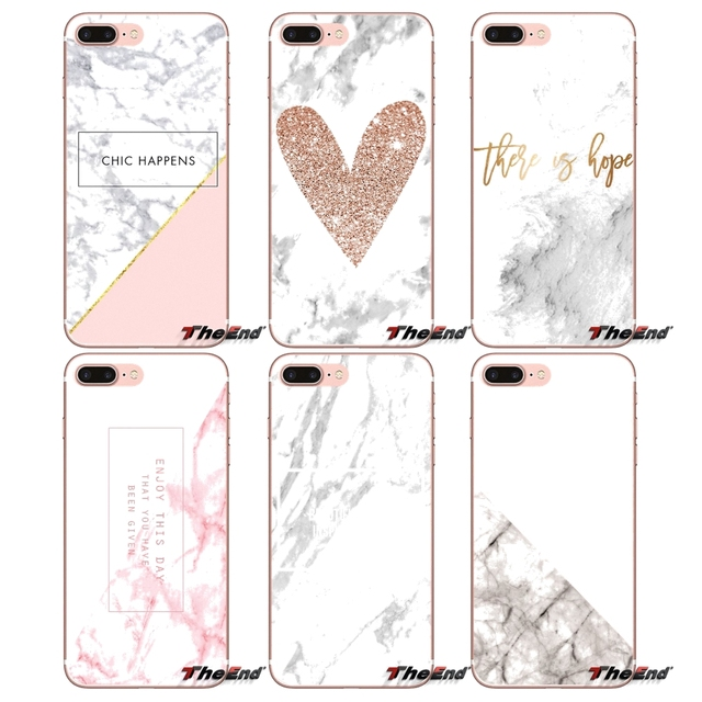 Cover Pink Texture Marble Rock Stone Heart For Sony Xperia Z Z1 Z2 Z3 Z5 compact M2 M4 M5 E3 T3 XA Aqua LG G4 G5 G3 G2 Mini Capa