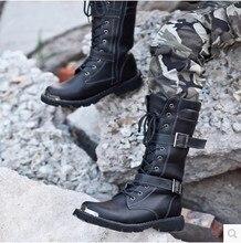 military tactical boots men winter Anti-cold men combat boots fashion vintage autumn snow men bota masculina shoes men black