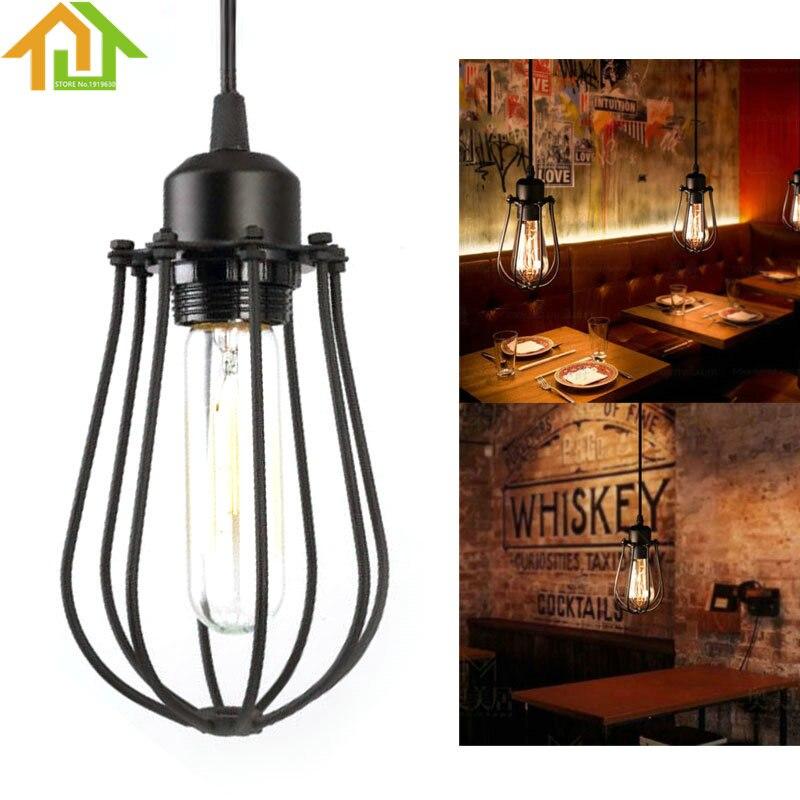 Vintage Industrial Loft Ceiling Lamp  Pendant Lighting Fixture Hanging loft lamp track lighting fixture vintage
