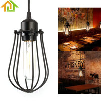 Vintage Industrial Loft Ceiling Lamp Pendant Lighting Fixture Hanging