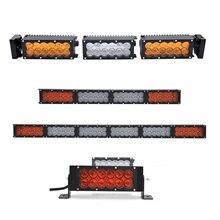 ECAHAYAKU 180w 2Row DIY length 22 LED Work Light Bar For Truck Atv 4x4 Offroad Combo Beam Amber White Warning Barra Fog Lights