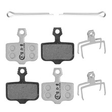 Mtb Bike Brake Pads For SRAM XO/XX1 AVID Elixir 3/5/7/9/DB1/DB3/DB5/ R/CR  Semi-metal Disc 4 Pairs