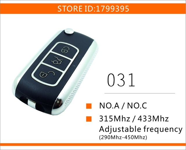 C Vw Phaeton Style Rolling Code Universal Gate Garage Door Remote Control For Chip Hcs300 Hcs301 Hcs200 Hcs201