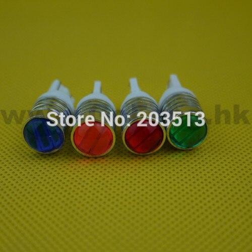 10PCS/lot 2014 new design wholesale car led bulb t10 3 smd 7014 7020 3 leds w5w 12v nice color light free shipping