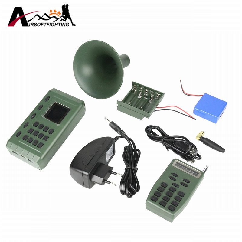 Electronics Built-in MP3 Bird Caller Hunting Decoy with Remote Control CP380 Audio Player 200m Bird Sound Loudspeaker Amplifier electronics hunting mp3 bird caller sound player with remote control hunting decoy speaker remote control 100 200m