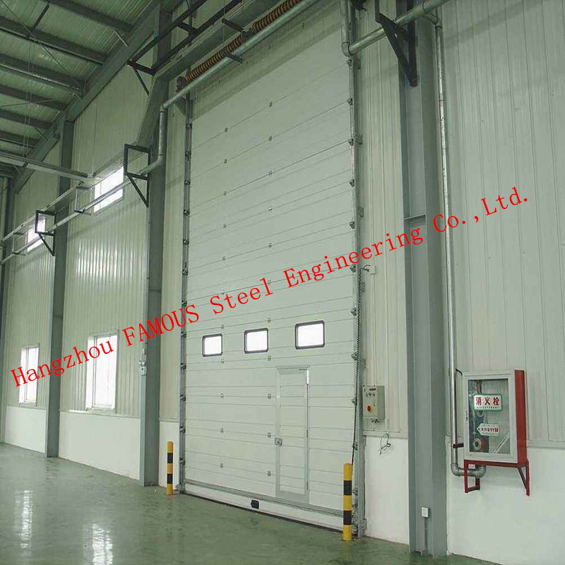 Hydraulic / Electrical Aircraft Hanger Door And Aviation Building Airplane Bifold Doors Vertical Lifting Systems
