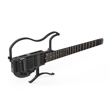 AD-80 ALP Headless Travel Electric Guitar with built in headphone amp full scale portable guitar