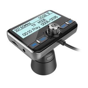 Image 3 - JaJaBor רכב DAB הדיגיטלי רדיו FM משדר Bluetooth דיבורית ערכת דיגיטלי אודיו שידור QC3.0 מהיר תשלום + אוויר Vent קליפ