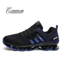 Comemore 2019 Hot Sale Men Sneaker Massage Max Air Breathable Men Shoes Big Size Comfortable Male Trainers Shoes Running Shoes