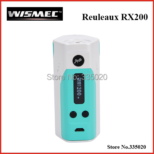 ФОТО Original Wismec Reuleaux RX200 Temperature Control Box Mod 200W TC-Ni/TC-Ti/TC-SS/VW mode with OLED Screen