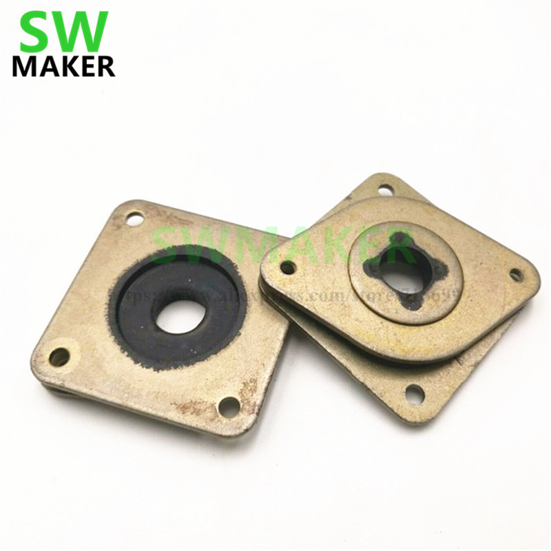 Creative Swmaker 1pcs Metal Rubber Dampers Mounts For Nema 17 Stepper Anti-vibration Gasket Modern Techniques