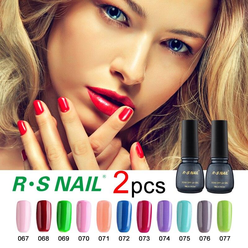Rs Nail: RS NAIL 2pcs Soak Off Gel Nail 3 Step Lucky Set Of