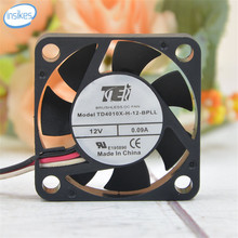 TD4010X-H-12-BPLL Silent Cooling Fan DC 12V 0.09A 1.08W 6500RPM 4010 4cm 40*40*10mm 3 Wires