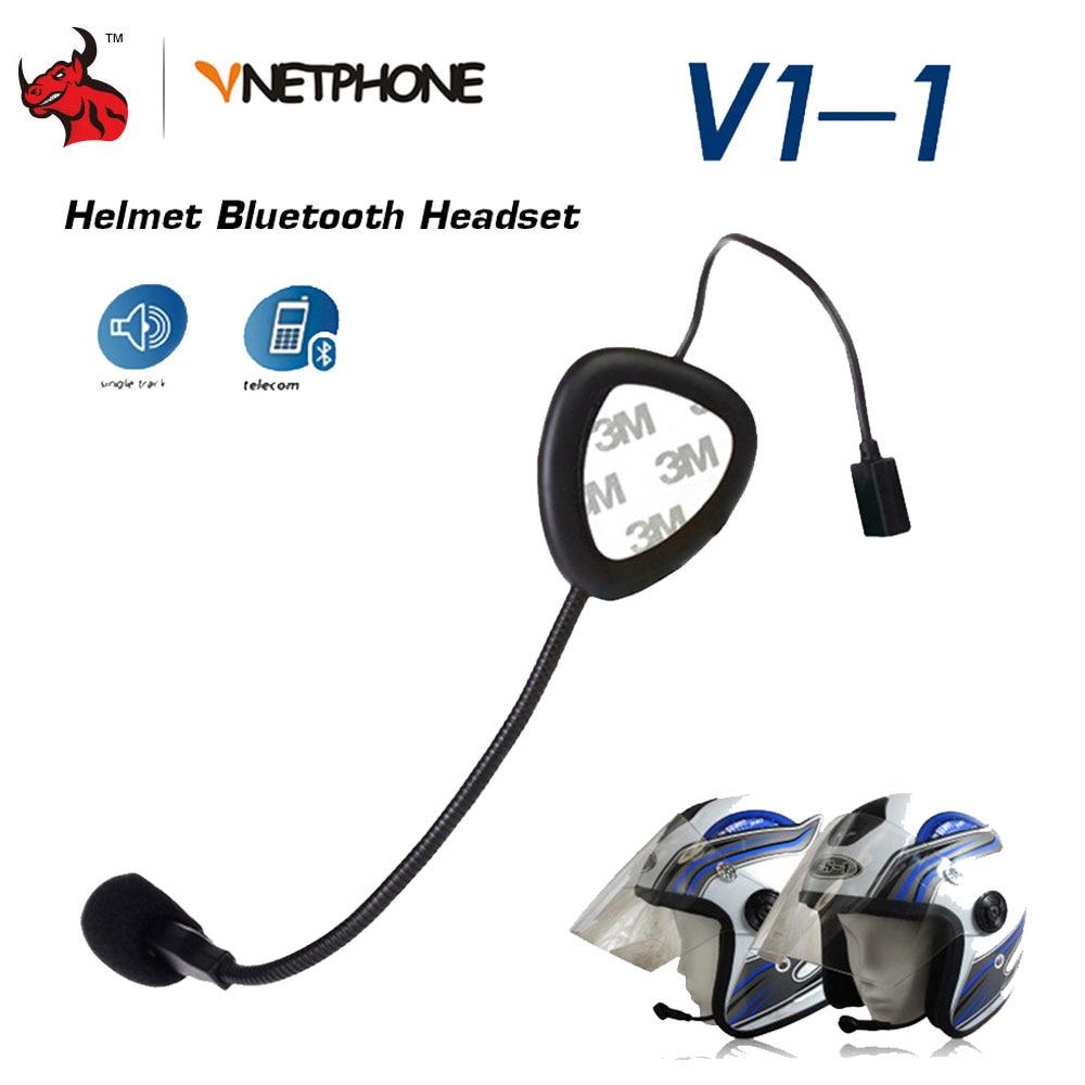 VNETPHONE® Microphone Headphone Headset for V8 Motorcycle Helmet Bluetooth