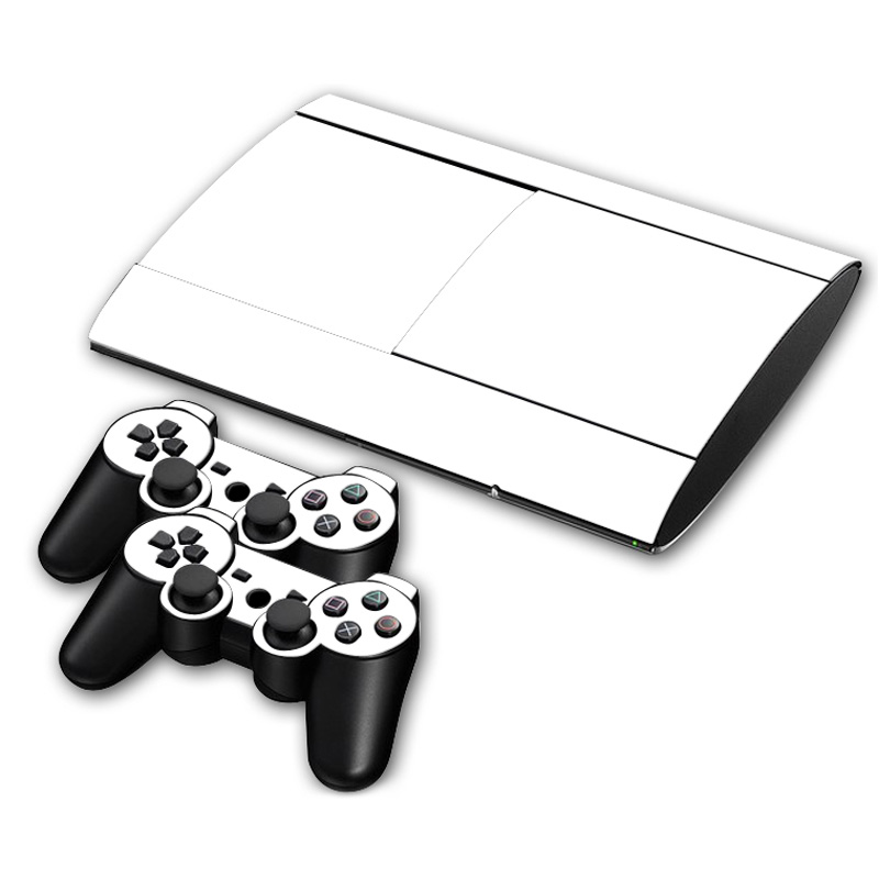free drop shipping Easy to install vinyl skin protector for ps3 super slim  4000 Skins Stickers#TN P3Slim4000 0154-in Stickers from Consumer