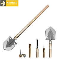Multifunctional Garden Camping Shovel Survival Tactical Military Shovel Folding Pocket Knife Outdoor Hand Tools Pelle Pliante