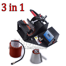 Cup mug sublimation heat press machine Combined Mug Press 3 in 1