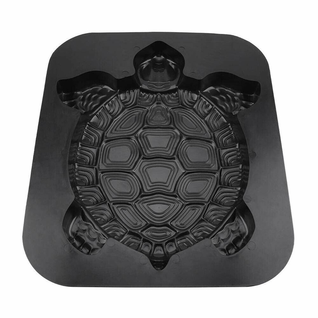 Image 3 - Concrete Molds Turtle Stepping Stone Mold Concrete Cement Mould ABS Tortoise Garden Path 44CM molde para cemento suelo-in Paving Molds from Home & Garden