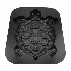 Image 3 - Concrete Molds Turtle Stepping Stone Mold Concrete Cement Mould ABS Tortoise Garden Path 44CM molde para cemento suelo