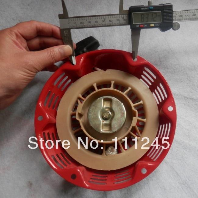 RECOIL STARTER ASSEMBLY FOR HONDA EC3800 C / CL/ CX  3800 4kw GENERATOR  PULL STARTER REWIND  REPLACEMENT PART recoil starter assembly steel ratchet for honda gx240 gx270 rewind starter repl 28400 ze2 w01za