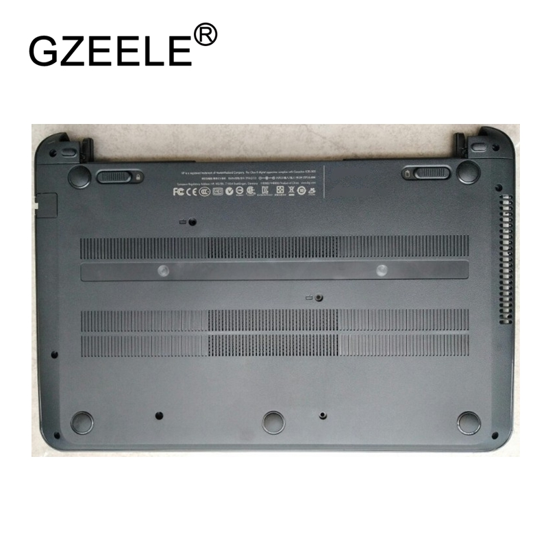 GZEELE used Laptop Bottom Base Case Cover for HP pavilion 14 14 B Base Chassis D